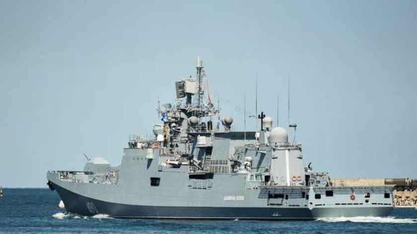 فرقاطة روسية في البحر الأسود