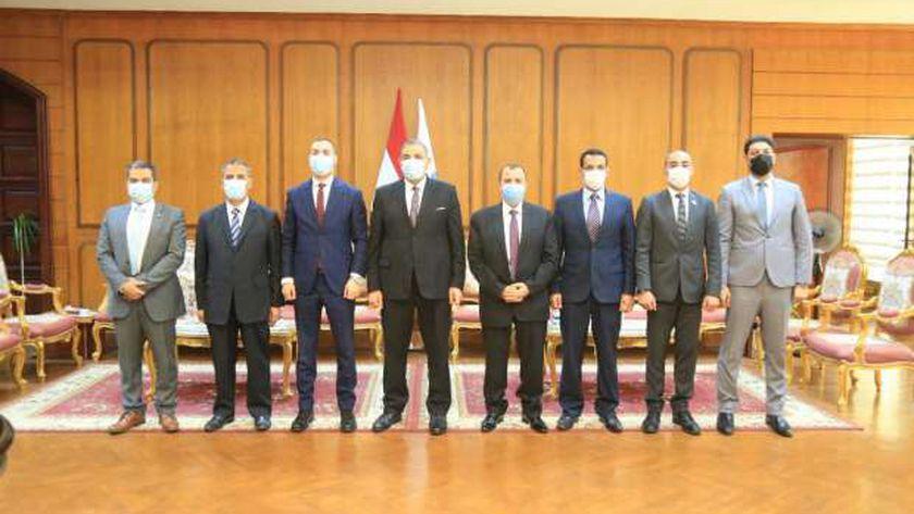 متدربو البرنامج الرئاسي يتفقدون كليات جامعة كفر الشيخ