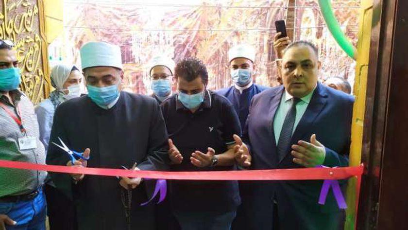 افتتاح مسجد المستشار لاشين ببنها