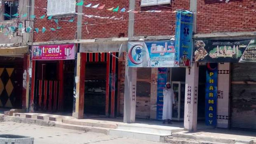 إغلاق المحلات بالقنطرة شرق ثالث أيام العيد
