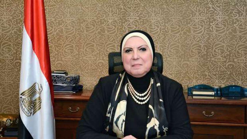 الدكتورة نيفين جامع، وزيرة التجارة والصناعة