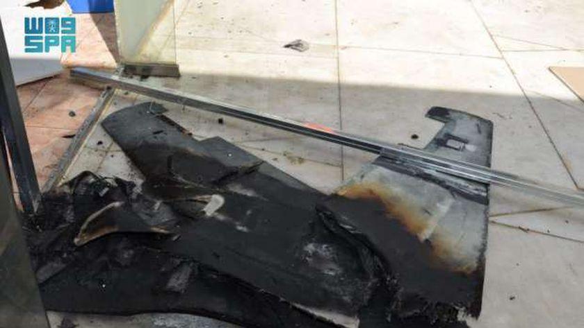 استهداف مطار أبها الدولي من قبل الحوثيين