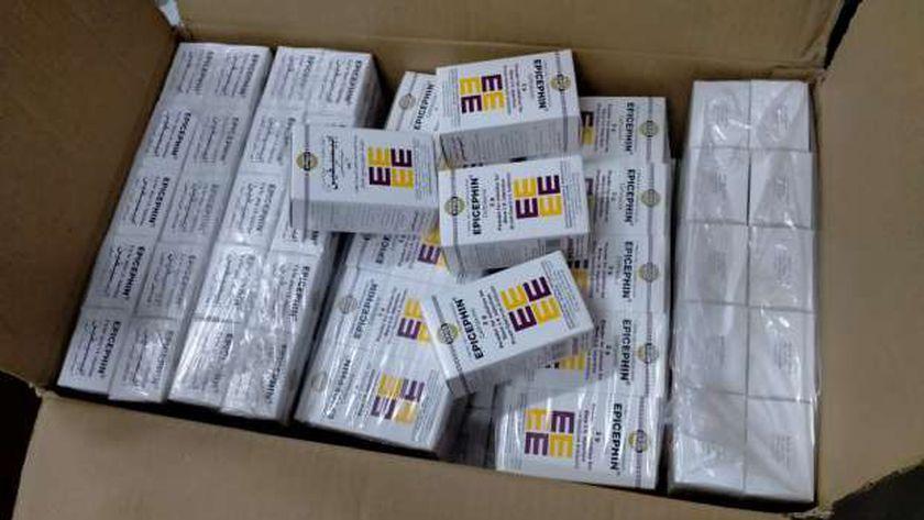 ضبط 300 مخالفة دوائية وتشميع مركزا طبيا خاصا بالشرقية