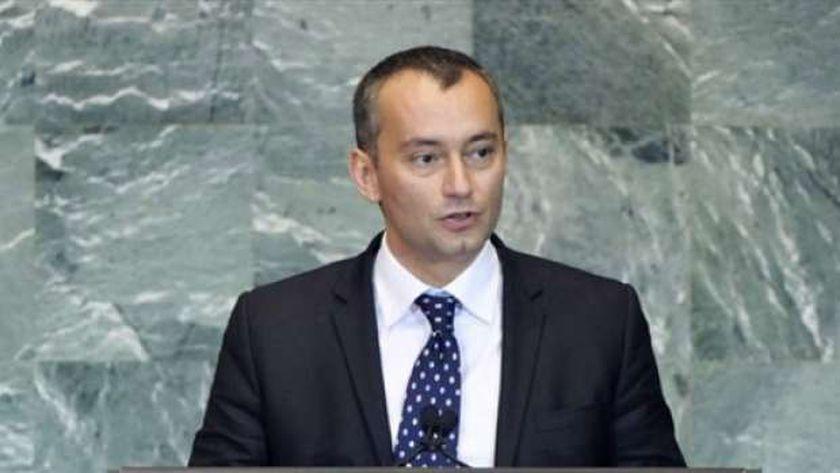 المنسق الخاص للأمم المتحدة لعملية السلام في الشرق الأوسط نيكولاي ملادينوف