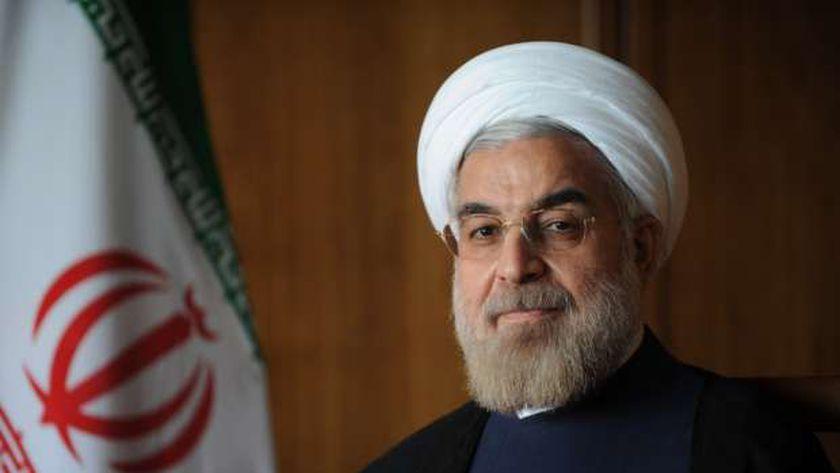 الرئيس الإيرانى حسن روحانى
