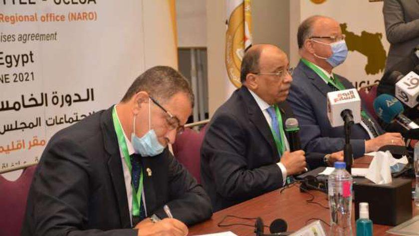 مؤتمر  منظمة المدن بحضور وزير التنمية المحلية