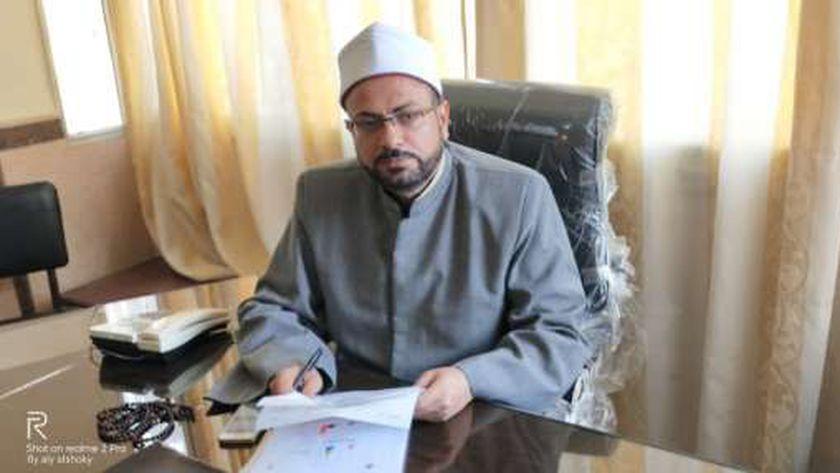 الشيخ حسن عبدالبصير وكيل وزارة الأوقاف بمطروح