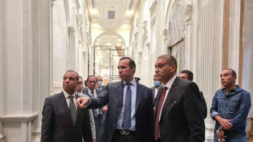 اللجنة الإدارية والمالية بمجلس الشيوخ