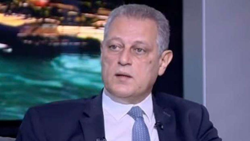 الدكتور طارق شاش نائب رئيس جهاز تنمية المشروعات الصغيرة والمتوسطة