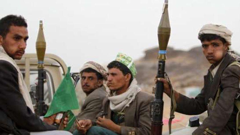 عناصر من الحوثيين