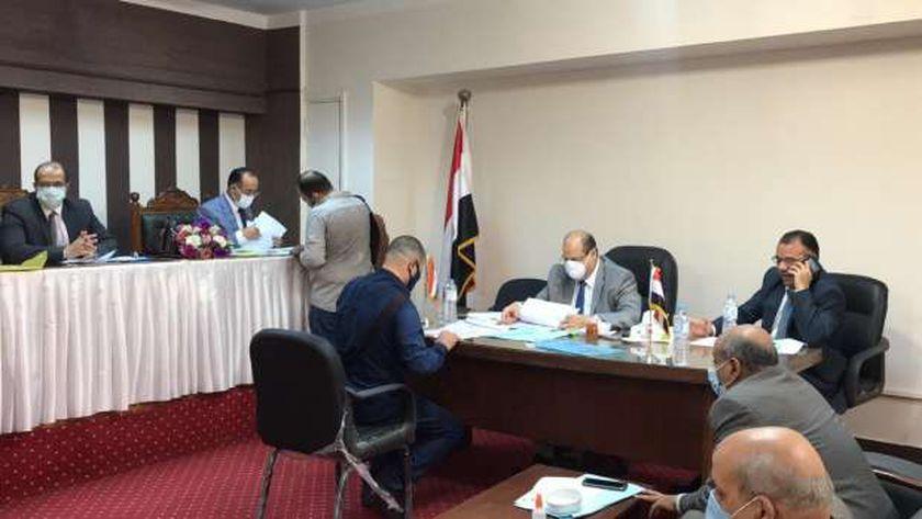 اللجنة القضائية المشرفة على انتخابات مجلس النواب بأسيوط