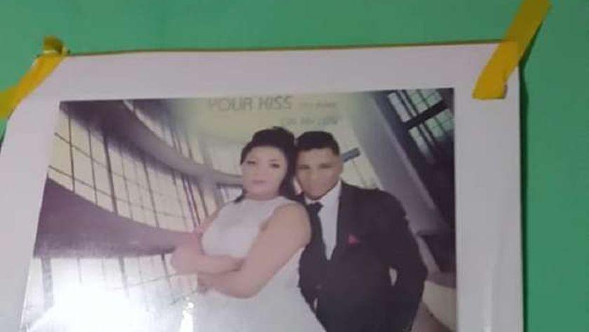 صورة العروسين المنتحرين