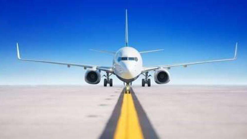 صورة أرشيفية لطائرة تستعد للإقلاع من أحد المطارات