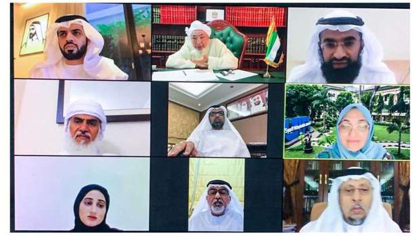 اجتماع مجلس الإمارات للإفتاء الشرعي عبر الاتصال المرئي