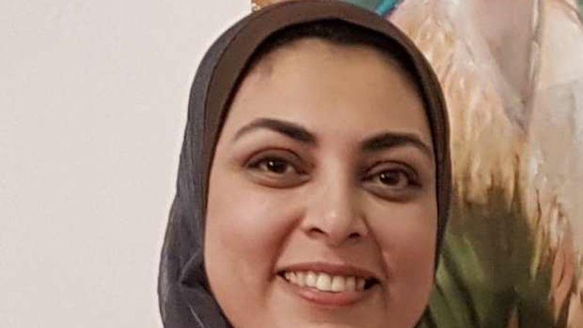 الدكتورة رانيا عبده محمود الإمام مدير مركز الخدمة العامة للمؤتمرات بجامعة طنطا