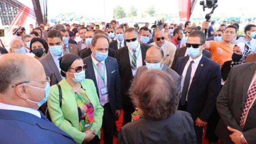 وزيرا التنمية المحلية والبيئة ومحافظ القارهرة يعلنون بدء منظومة النظافة الجديدة