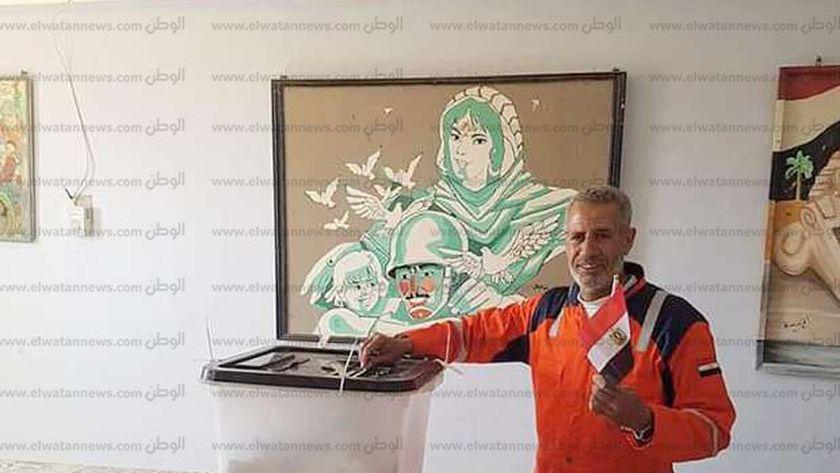 والد الشهيد النقيب أحمد عبدالسلام