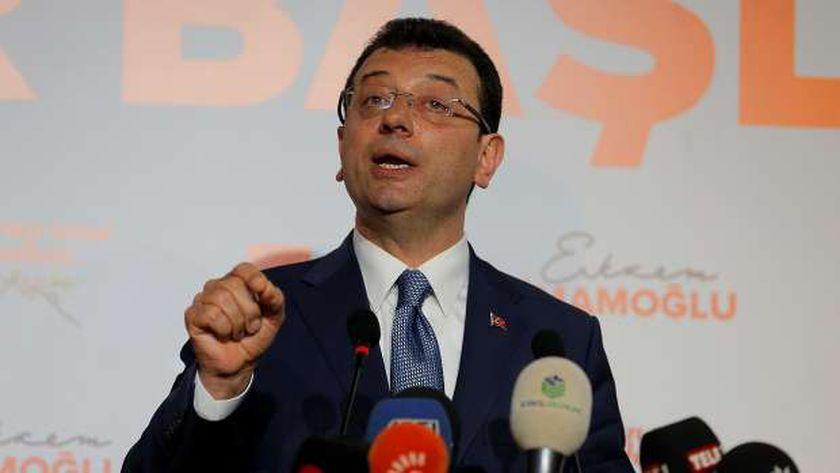 رئيس بلدية إسطنبول أكرم إمام أوغلو