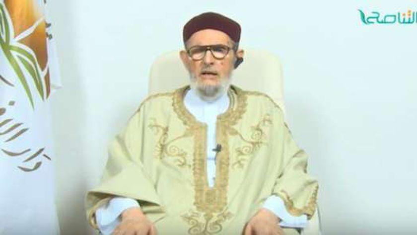 مفتي ليبيا المعزول الصادق الغرياني