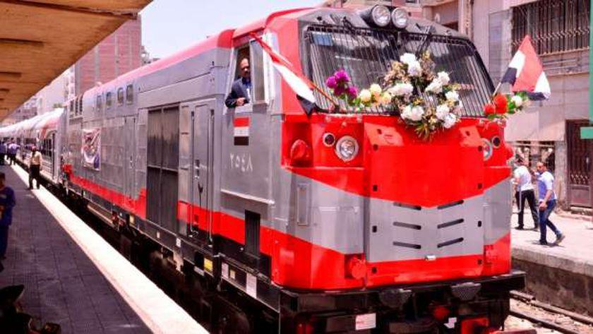 تشغيل القطارات الجديدة على جميع خطوط السكك الحديدية اليوم