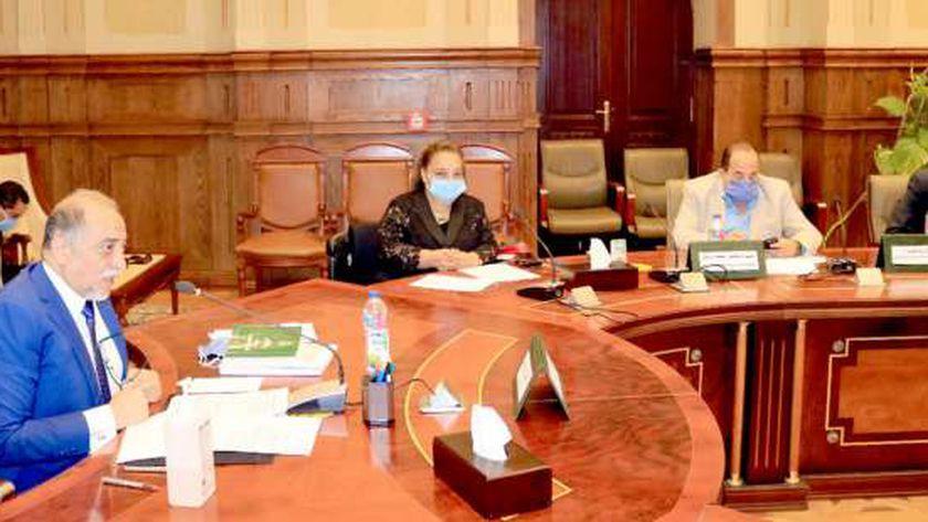 اجتماع سابق للجنة التضامن بمجلس النواب
