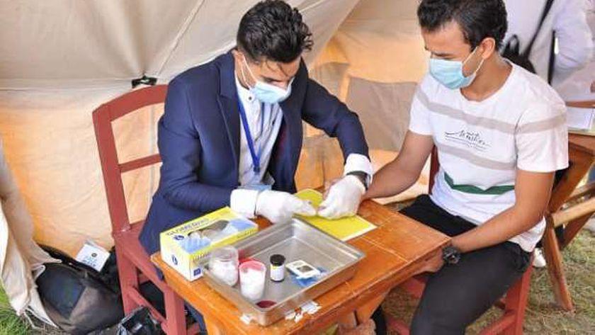 جامعة كفر الشيخ تنظم فعاليات توعوية بمرض السكر