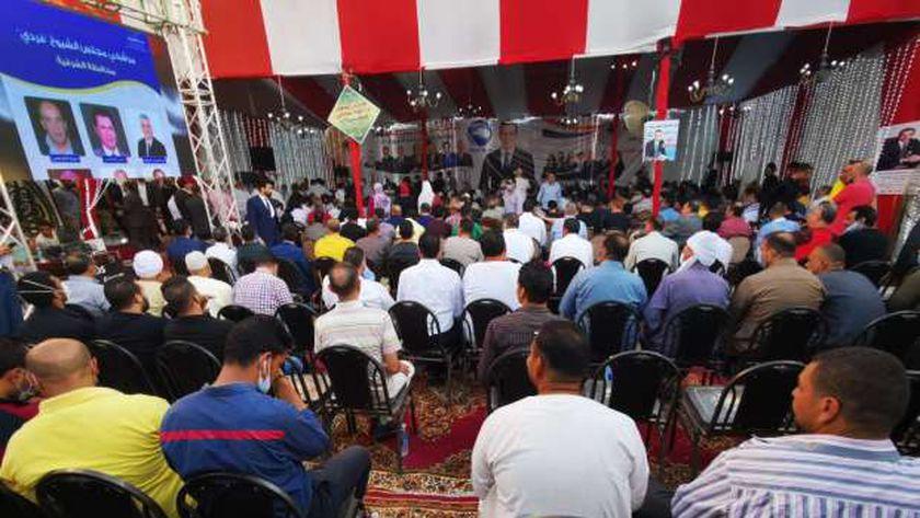 أشرف رشاد يقود مؤتمر لدعم مرشحى مستقبل وطن في انتخابات الشيوخ بالشرقية