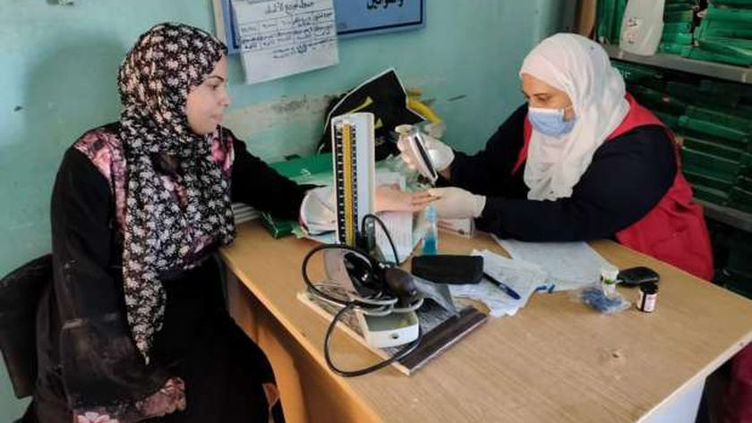 الكشف عن الأمراض المزمنة بجنوب سيناء
