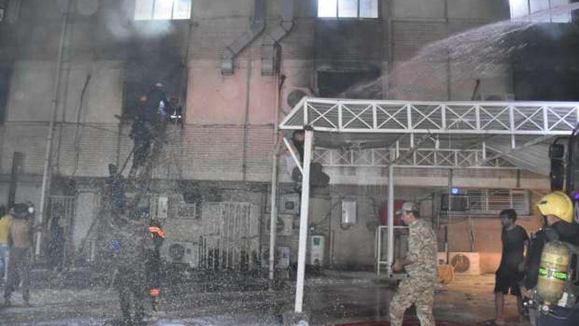 صورة أرشيفيى لانفجار سابق في العراق