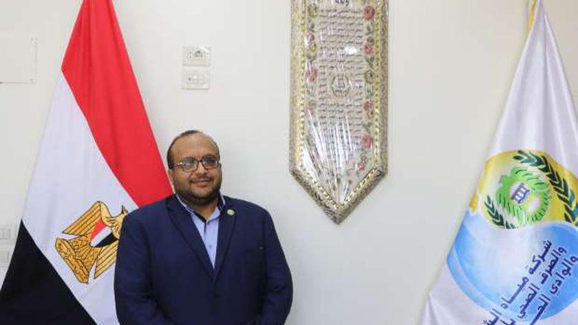 المهندس محمد صلاح الدين عبدالغفار رئيس مجلس إدارة شركة مياه الشرب بأسيوط