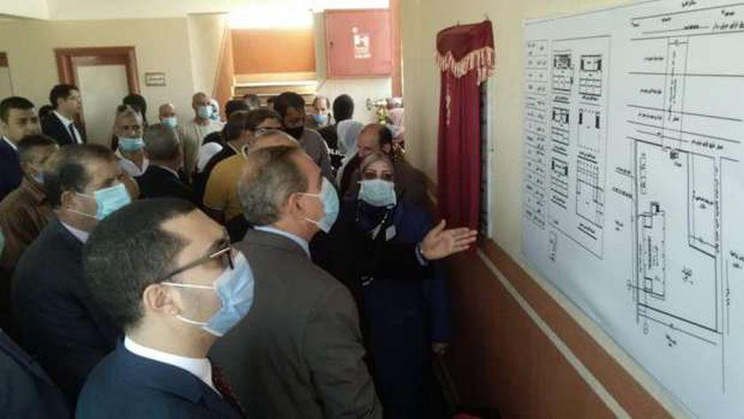افتتاح مدرسة بكفر الشيخ