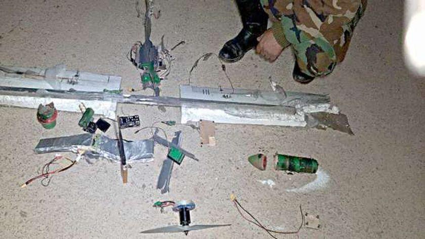 عاجل..تدمير طائرة بدون طيار مفخخة أطلقها الحوثيون تجاه جنوب السعودية