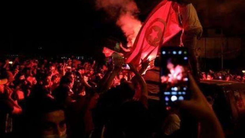 مظاعرات في تونس