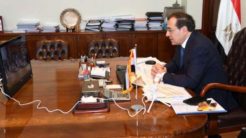وزير البترول والثروة المعدنية خلال جمعية إيبروم