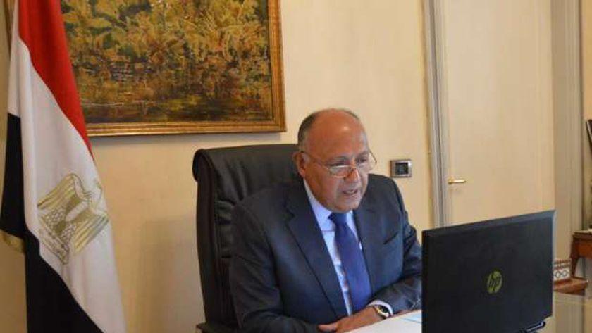 السفير سامح شكري .. وزير الخارجية