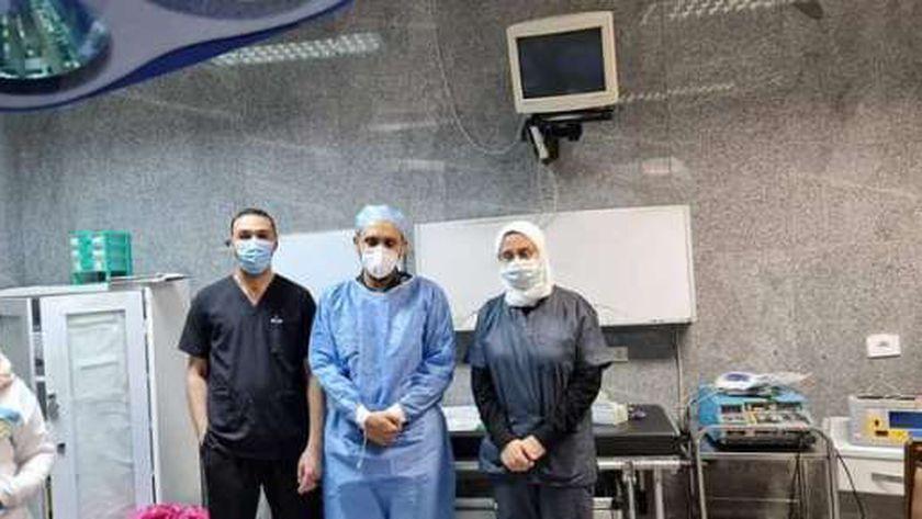 الفريق الطبي للجراحة