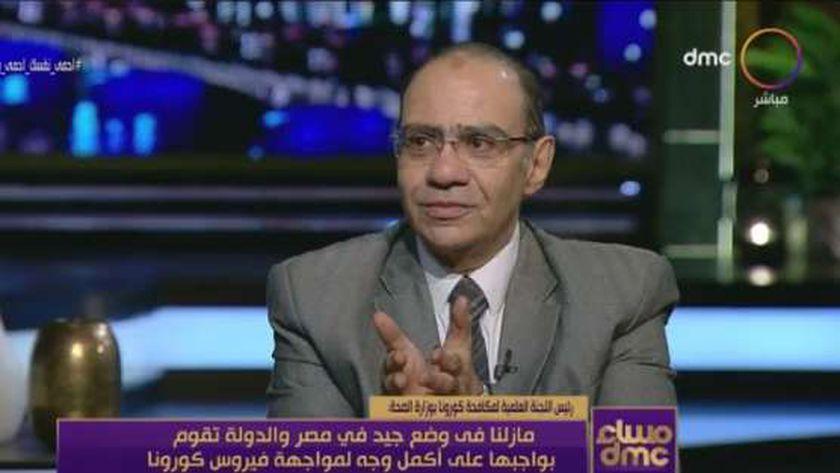 """الدكتور حسام حسني.. رئيس اللجنة العلمية لفيروس كورونا المستجد """"كوفيد19"""" بوزارة الصحة والسكان"""