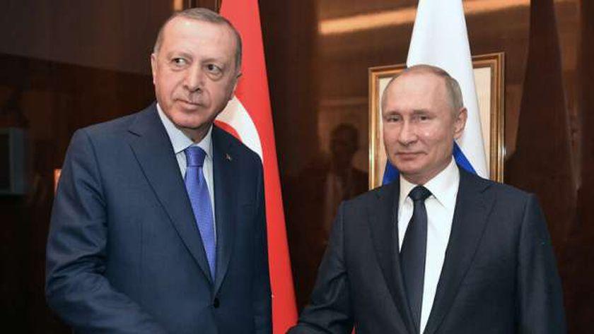 أردوغان وبوتين- أرشيفية