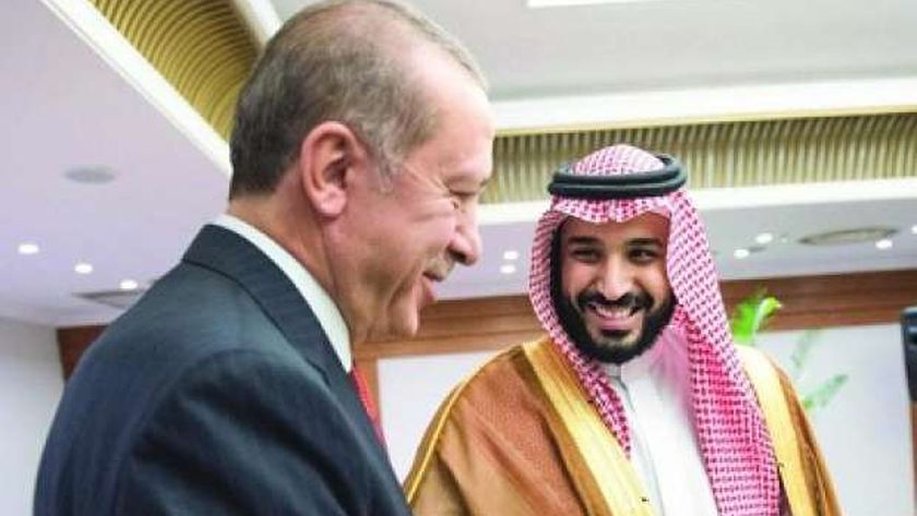 ولي العهد السعودي وأردوغان