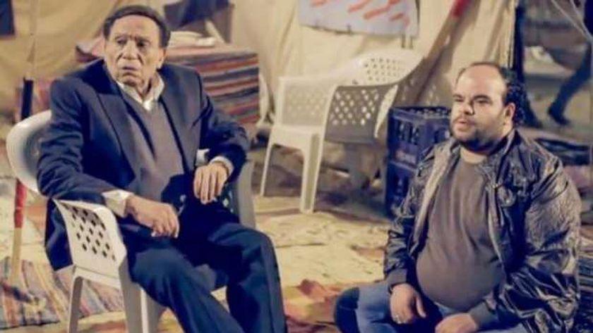 الفنان القدير عادل إمام ومحمد عبد الرحمن