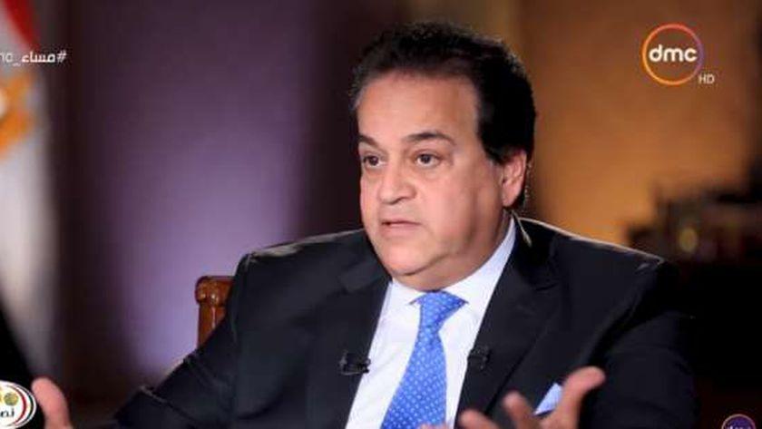الدكتور خالد عبدالغفار .. وزير التعليم العالي