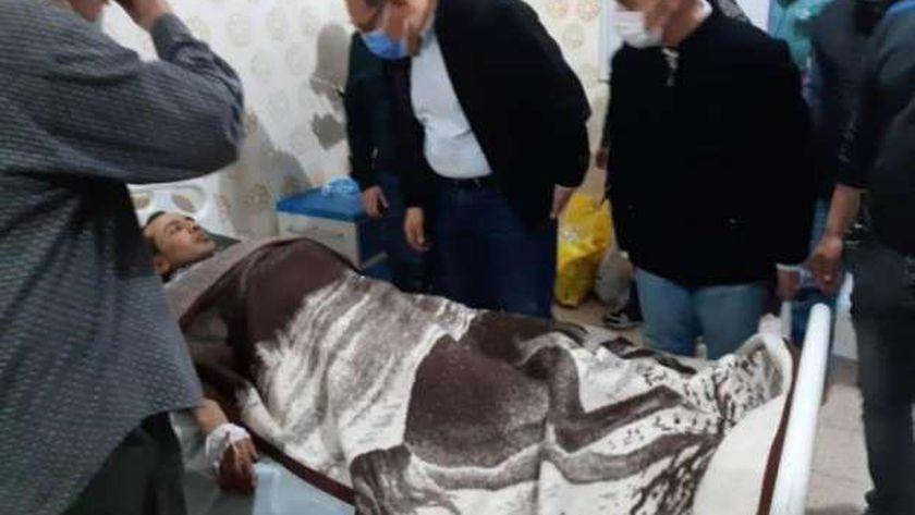 خروج 12 من مصابي قطار منيا القمح من المستشفى