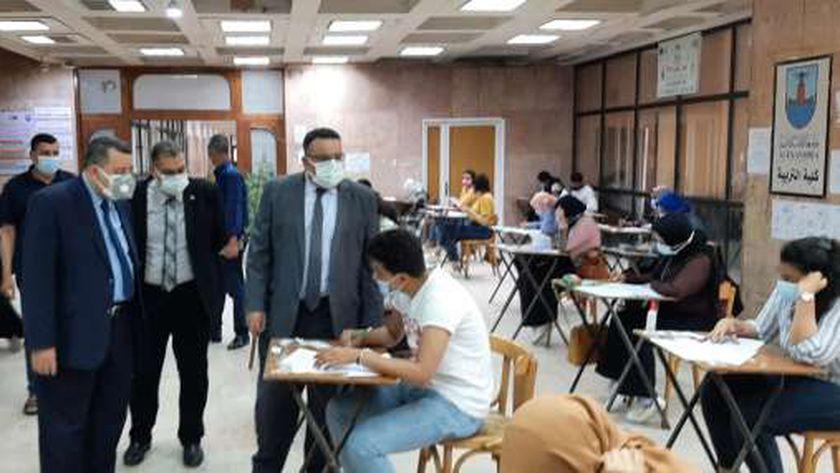 امتحانات الفصل الدراسي الثاني في الإسكندرية