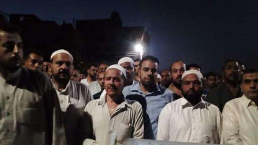جنازة الشيخ محمد رمضان