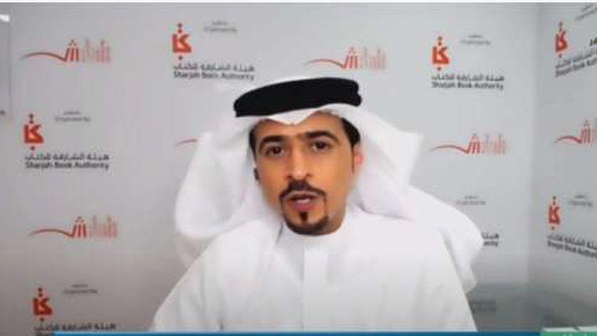 أحمد العامري رئيس هيئة الشارقة للكتاب ورئيس المعرض