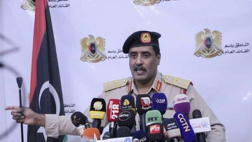 اللواء أحمد المسماري.. الناطق باسم الجيش الوطني الليبي