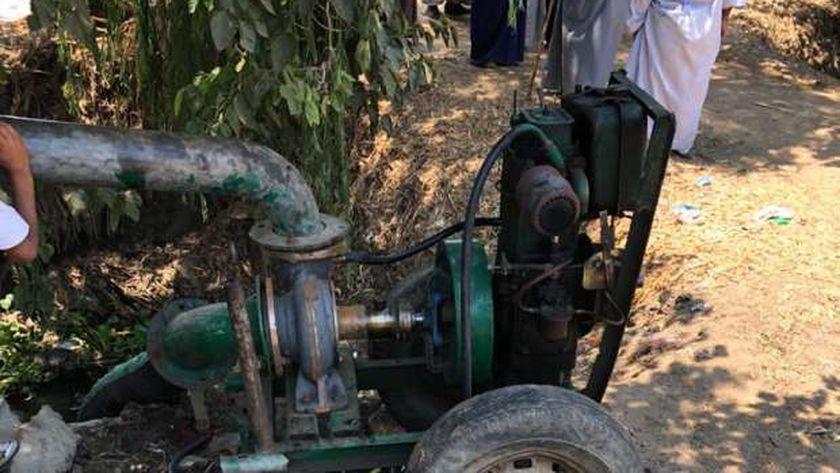 ساعدت والدها في الزراعة.. ماكينة رى تقتل فتاة بالغربية
