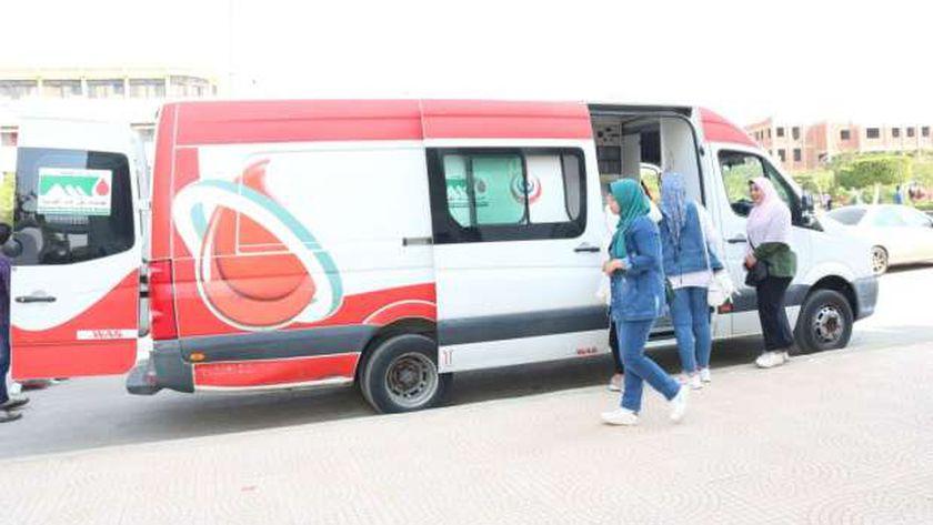 مديرة بنك دم الزيتون تناشد المواطنين بالتبرع في مستشفيات الحكومة