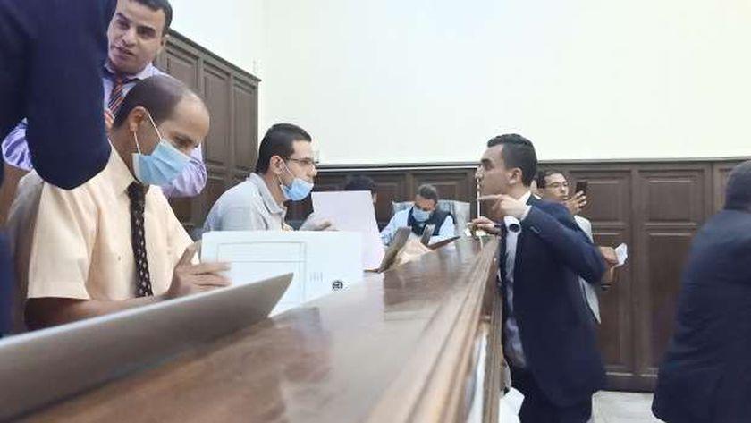 التقدم لأوراق الترشح لانتخابات مجلس النواب فى الإسكندرية