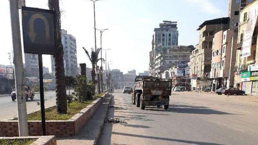 صورة محافظ الغربية يوجه باستمرار حملات النظافة في شوارع المحلة والسنطة – المحافظات